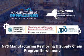 NYS Manufacturing Reshoring & Supply Chain Program Enrollment